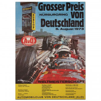 German Grand Prix 1973 Nurburgring Poster