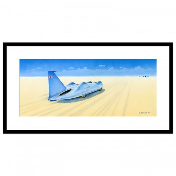 Bluebird CN7 | Donald Campbell | Original Art
