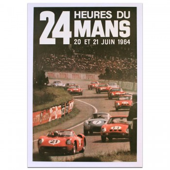French | Le Mans 24 hours 1964 Poster
