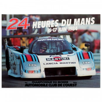 French | Le Mans 24 hours 1984 Poster
