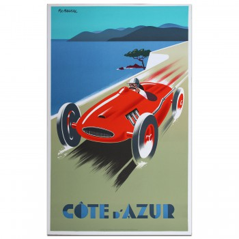 French | Fix Masseau Cote D'Azur 1987 Poster