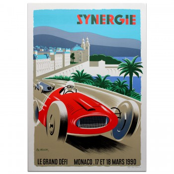 French | Fix Masseau Synergie Poster