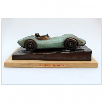Lister Jaguar Sculpture
