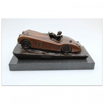 Jaguar XK120 Sculpture