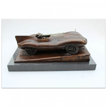 Jaguar D-type Sculpture