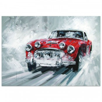 Austin Healey | RAC Rally | Christmas Card