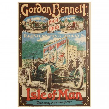 British | Gordon Bennett Trophy Race Poster