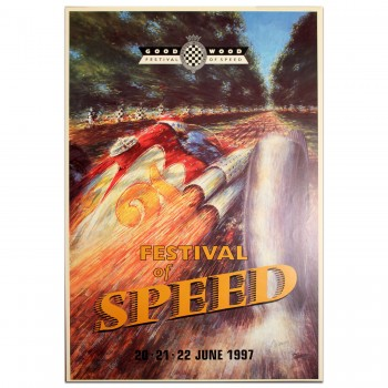 British | Goodwood Festival of Speed 1997 Poster