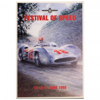 British | Goodwood Festival of Speed 1998 Poster