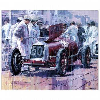 Looking into it | Dreyfus | Maserati | Monaco | Painting