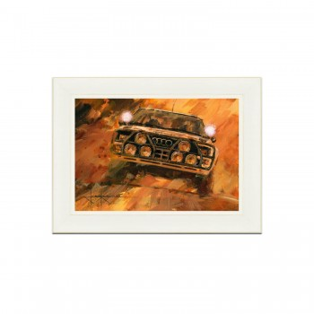 1984 Safari Rally | Mikkola | Audi Quattro | Painting