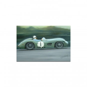 Aston Martin DBR1 | Stirling Moss | Greetings Card