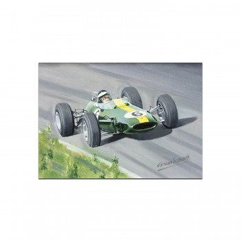 Lotus 33 | Jim Clark | Greetings Card