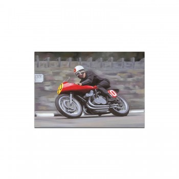 Geoff Duke | Gilera | TT | Greetings Card
