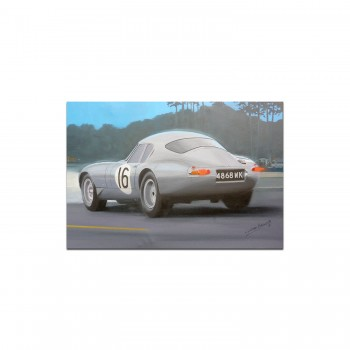 Jaguar E-type | Le Mans | Greetings Card