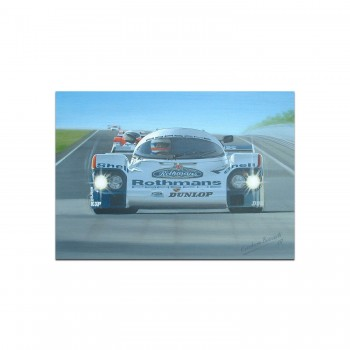Porsche 956 | Derek Bell | Greetings Card
