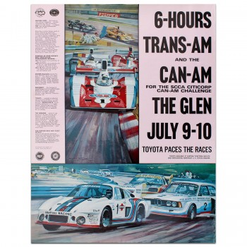 USA | Watkins Glen 6 Hour Race & Can-Am 1977 Poster