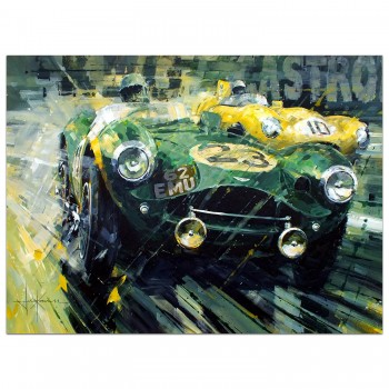 Top of the Class | Collins & Frere | Aston Martin | Le Mans | Painting