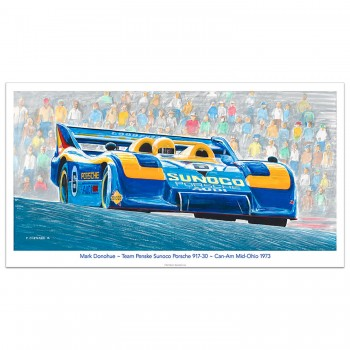 Mid-Ohio Can-Am 1973 | Donohue | Porsche 917/30 | Print