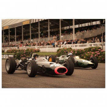 Record Setters | Clark & Stewart | Goodwood | Photograph