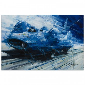 Blue Lightning | Donald Campbell | 1964 Bluebird CN7 | Painting