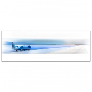 Blue Streak | Donald Campbell | 1964 Bluebird CN7 | Art Print