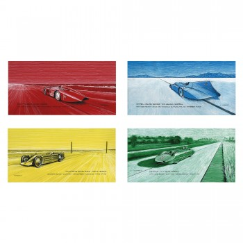 Vanishing Points Collection | Land Speed Record Art