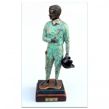 Jim Clark Lotus F1 World Champion | Sculpture