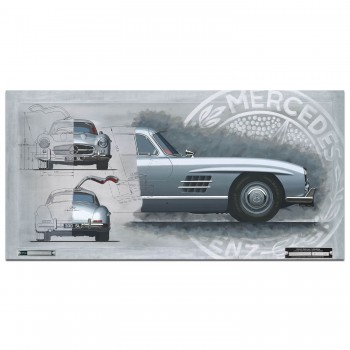 Mercedes 300SL Gullwing | Print