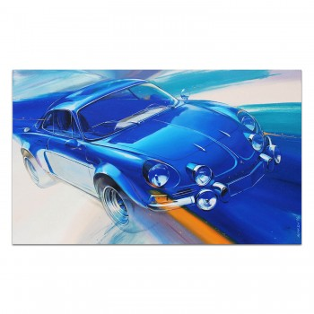 Alpine Renault A110 | Painting