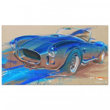 Shelby AC Cobra | Painting