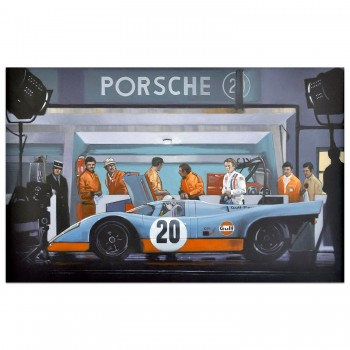 Making Movies | Steve McQueen | Le Mans Film | Painting