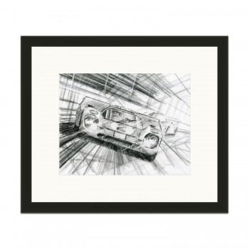 Porsche 917K | Daytona 24 Hours 1970 | Pencil Sketch