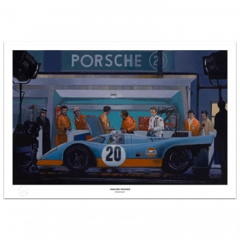 Making Movies | Steve McQueen | Le Mans Film | Print