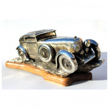 Blue Train Bentley Speed Six | Sculpture