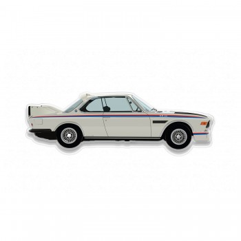 Halmo Sculpture | BMW 3.0 CSL | Plexiglass Wall Art