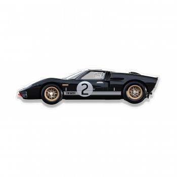 Halmo Sculpture | Ford GT40 | Plexiglass Wall Art