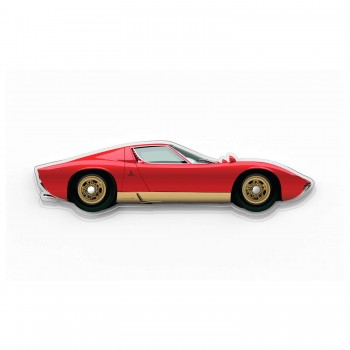 Halmo Sculpture | Lamborghini Miura | Plexiglass Wall Art