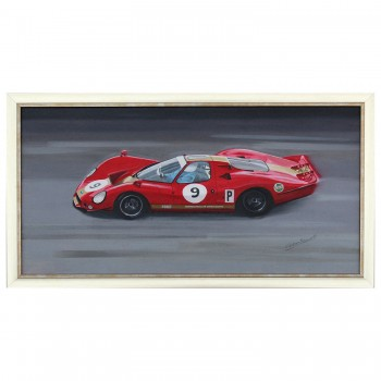 1968 Ford P68 | Gardner / Attwood | Spa 1000km | Painting