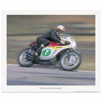 Mike Hailwood | Honda | 1967 Lightweight TT | Print