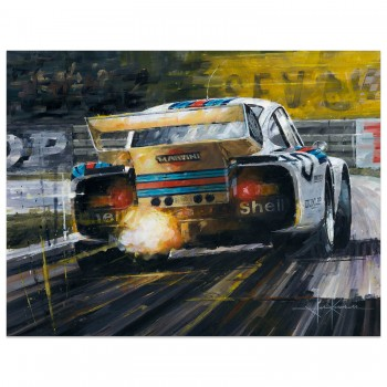 Flash Drive | Porsche 935 | Le Mans 24 Hours 1976 | Painting