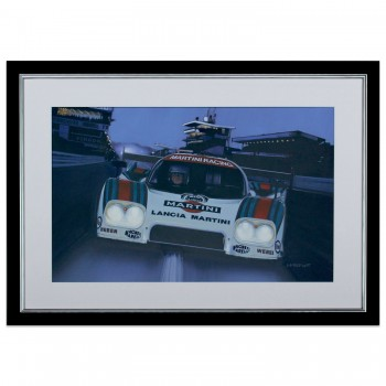 Into The Night | Lancia LC2 | Le Mans 24 Hours 1984 | Painting