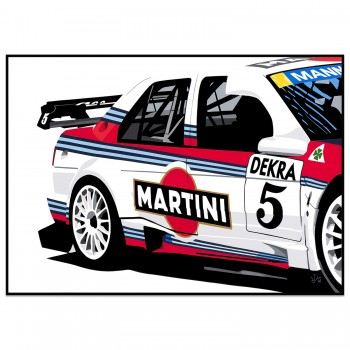 SPEED ICONS: Alfa Romeo 155 DTM Touring Car | Original Artwork
