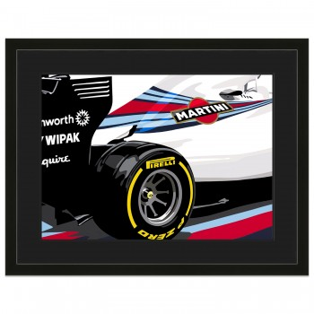 SPEED ICONS: Williams Grand Prix FW36 Formula One Car | Original Artwork