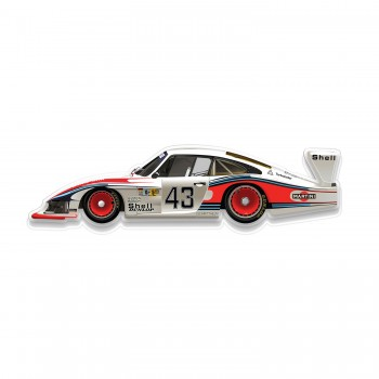 Halmo Sculpture | Porsche 935/78 | Plexiglass Wall Art