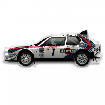 Halmo Sculpture | Lancia Delta S4 | Plexiglass Wall Art