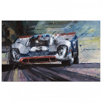 Absolute Limit | Elford & Larrousse | Porsche 917K | Sebring 1971 | Art Print
