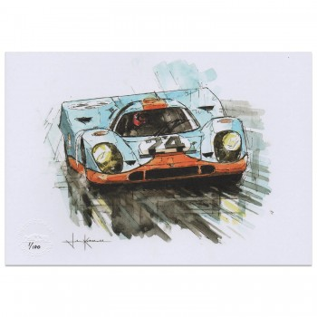 Redman & Siffert | Spa 1000km 1970 | Porsche 917 | Art Print