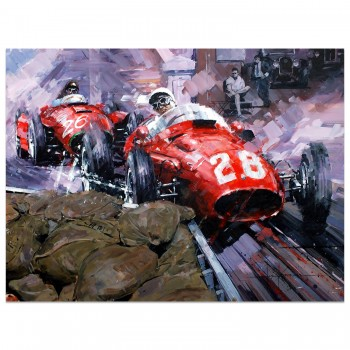 The Best by Far | Stirling Moss | Maserati | Monaco | Artwork