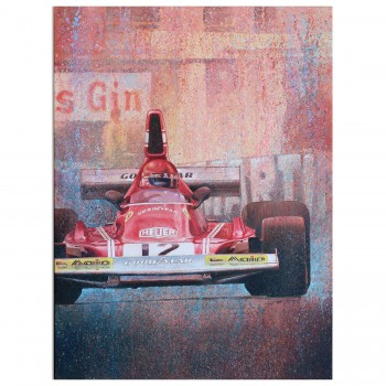 Ferrari 312B3 | Formula 1 | Artwork